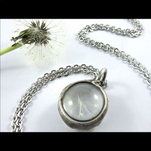 The Wish Dandelion Pendant Callisto Necklace
